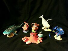 Disney Finding Dory Christmas Ornament set of Six Dory Hank Bailey Destiny Nemo