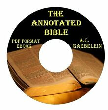 The Annotated Bible-Arno C Gaebelein CD Ebook PDF-Kindle-iPhone Droid Compatible