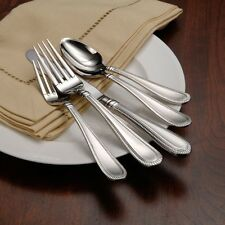 Oneida Interlude 66 Piece Service for 12 Flatware Set 18/10 Stainless Steel