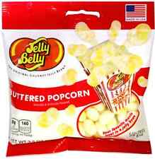 BUTTERED POPCORN - Jelly Belly Candy Jelly Beans - 3.5 oz BAG - PREPACKAGED