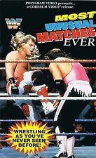 WWF Most unusual Matches Ever 1994 ORIG VHS WWE Wrestling deutsche Version