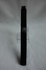 Velcro Nylon Watch Band 16mm - Colour Black