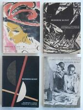 Four Auction Catalogs MODERN ART German Profusely Illustrated Reference Books NR