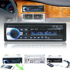 Bluetooth Car Stereo Audio 1 DIN In-Dash MP3 Player FM Aux Input Receiver SD/USB