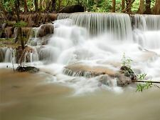 ART PRINT POSTER PHOTO WATERFALL CASCADE THAILAND PRETTY EXPOSURE LFMP1272
