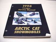 Arctic Cat 1994 Cougar Service Manual Slightly Used #23