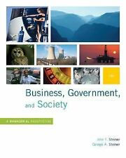 Business Government and Society Int'L Edition