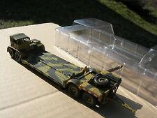 MILITAIRE 1/72 Remorque Allemande porte chars SdAh 116 1943 !!