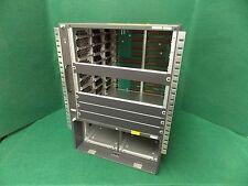Cisco 6500 Series Catalyst WS-C6509-E Chassis WS-C6500-E w/ WS-C6509-E-FAN #