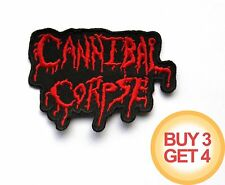 CANNIBAL CORPSE RD PATCH BUY3GET4,SUFFOCATION,SIX FEET UNDER,DEICIDE,DEATH METAL