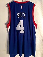 Adidas Swingman 2015-16 NBA Jersey 76ers Nerlens Noel Blue sz XL