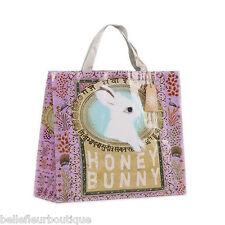 "Papaya Art Honey Bunny Market Shopper Shopping Bag 15"" x 15"" x 5"""