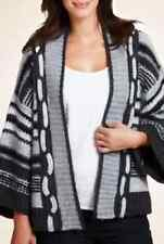 M&S Per Una Woman Cable Knit Cardigan, Grey Mix, XLarge, BNWT, Was £45