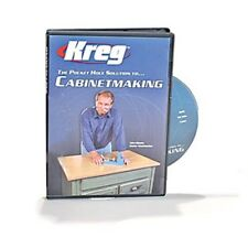 Kreg Tools DVD Set, Cabinet Making Booklet, Screw Selector and Ball Caps