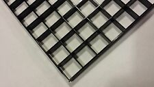 "12""x24"" Black eggcrate Live coral frag plug rack Fish Tank Holder Egg Crate"