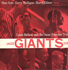 "JAZZ GIANTS 1959 (STAN GETZ, GERRY MULLIGAN a.o.) - Candy (1959 EP 7"" DUTCH PS)"