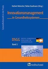 Buch Innovationsmanagement in Gesundheitssystemen DSGG Band 2