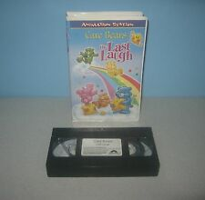 Care Bears The Last Laugh 2003 VHS Animated 60 Min Tape by Animated Station