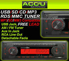 Sub Zero ICE Car CD MP3 WMA USB SD MMC Radio Tuner Aux In Head Unit Player+Free