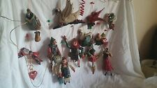 BEAUTIFUL COMPLETE SET LOT House of Hatten 1989 HOH 12 Days of Christmas