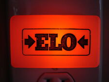 RARE ELECTRIC LIGHT ORCHESTRA ELO VINTAGE EARLY LOGO NIGHT LIGHT JEFF LYNNE
