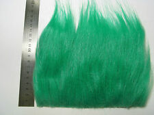 Green Extra Long Pile Craft Fur, Fly Tying Material