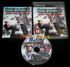 DEAD RISING 2 OFF THE RECORD Ps3 Versione Italiana 1ª Edizione ••••• COMPLETO