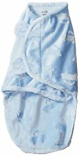 Summer Infant Boy Swaddle Me Luxe Velboa, Sky Blue