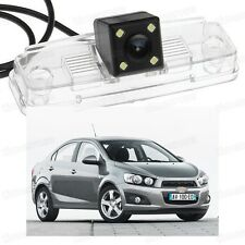 4 LED Car Rear View Camera Reverse Backup CCD for Chevrolet Aveo 2012-2014 2013