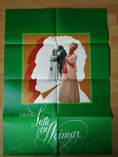 Filmposter * Kinoplakat * A1 * Lotte in Weimar * Lilli Palmer * DDR 1975