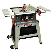"Craftsman 10"" Inch Table Saw w/ Laser Trac Precision Speed Cut Wood Cutting Saws"