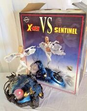 X-Men VS Sentinel 2 Diorama Statue Sideshow LTD 650 Beast White Queen LIGHTS UP