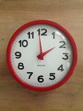 Karlsson Classic Red Wall Clock