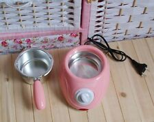 New Pink Mini Melted Fountain Chocolate Pot Fondue Self-restraint Heated Machine