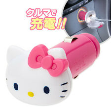 Hello Kitty Pink Car USB Charge Socket Light ❤ Sanrio Japan
