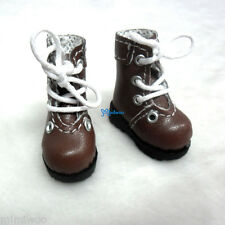 "16cm Lati Yellow Basic Bjd 12""  Blythe Pullip Doll Shoes High Hill Boots BROWN"