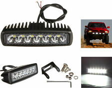Faro supplementare striscia 6 LED Auto,Suv.12-24V universale.Faretto fendinebbia