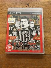 Sleeping DOGS Limited Edition-PS3 (non sigillata) NUOVO!