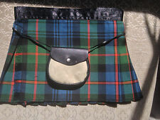 Murray Tartan  Baby Kilt Plus Sporran  4-12 Month Christening Baby Shower