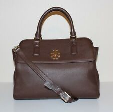 NWT TORY BURCH Mercer Dome Handbag in Dark Walnut Style31385 MSRP$535