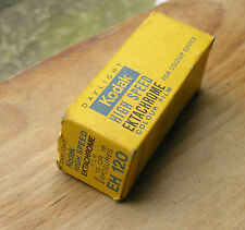 Kodak  EH120 color slide   film outdated 12/1976 not processable 120 roll film