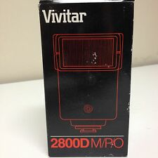 VIVITAR 2800D DEDICATED ELECTRONIC MOUNT FLASH for Minolta, Pentax, Olympus