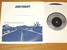 "UK IMPORT 80s 45 RPM w/PICTURE SLEEVE - JOHN FOGERTY ""THE OLD MAN DOWN THE ROAD"""