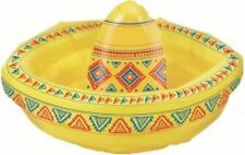 INFLATABLE SOMBRERO COOLER DRINK BAR SPA POOL DECORATION PARTY HAT MEXICAN