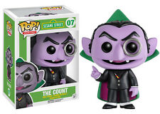 "Funko Pop Sesame Street: The Count Vinyl Action Figure 3.75"" Collectible Toy, 07"