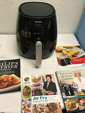 Philips Rapid Air Deep Fryer Electric Healthy Fat Low Cooking Kitchen cookbooks
