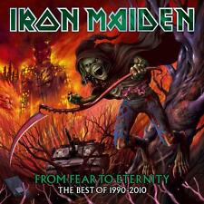 """IRON MAIDEN """"FROM FEAR TO ETERNITY : THE BEST OF 1990-2010"""" PICTURE DISC 3 LP"""