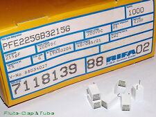 4pcs RIFA PFE225 215pF 200V 2% Polystyrene / Styroflex Film Capacitors. 220pF