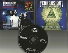 Coc CORROSION OF CONFORMITY King of the rotten PROMO DJ CD METALLICA TOUR DATES