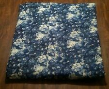 Ralph Lauren Full/Queen Staffordshire Collection Floral Comforter - Blue/White